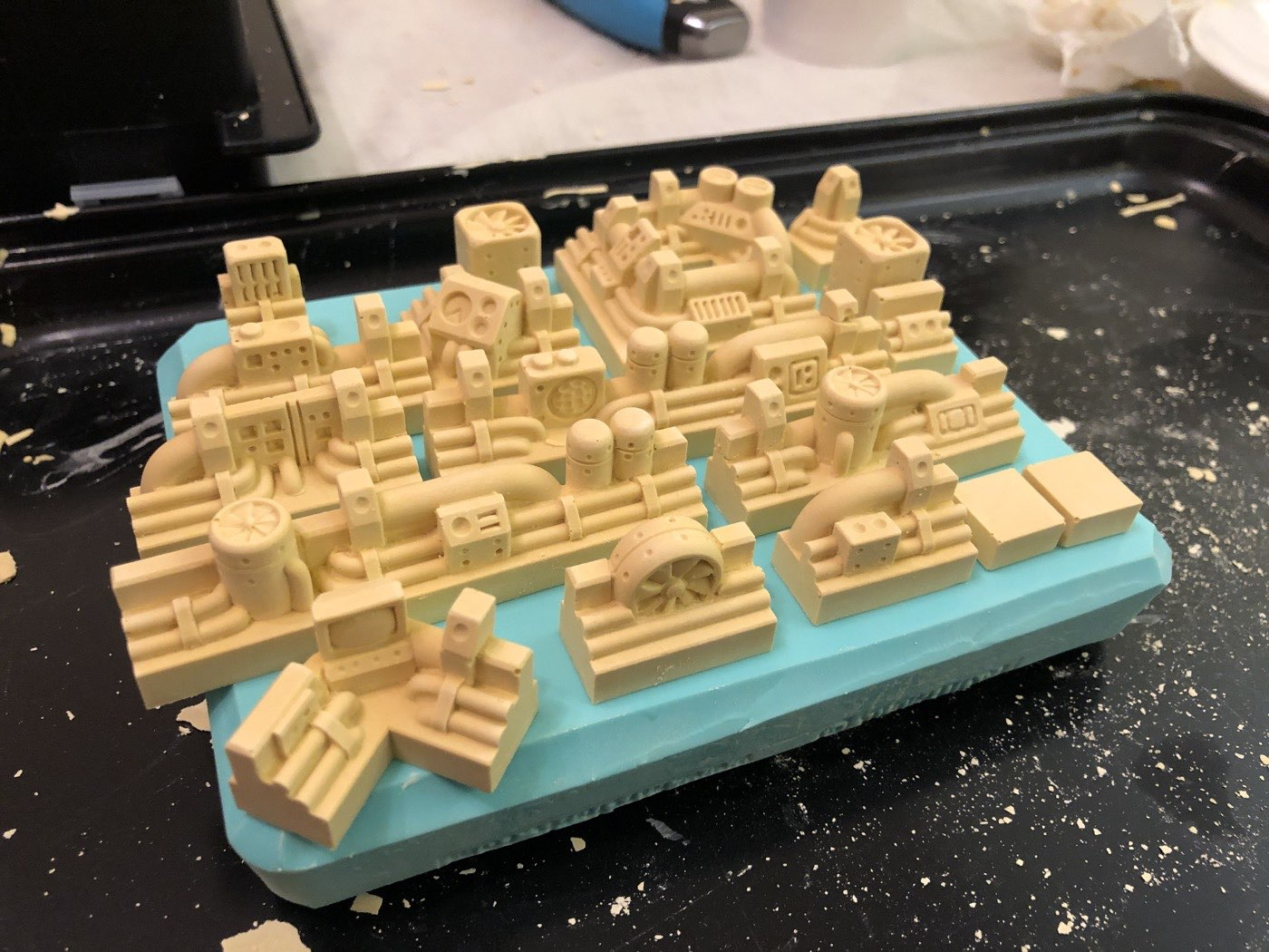 Casting Scenery Pieces with Hirst Arts Molds