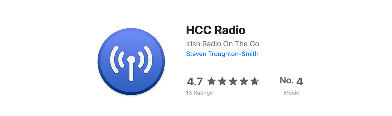 HCC Radio reviews